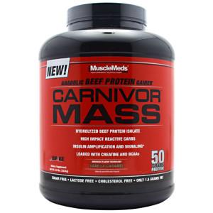 MuscleMeds Carnivor Mass Gainer 6 Lbs (yang dulu Carnivor Mass5.7 Lbs)