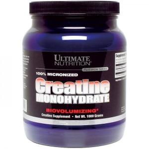 Creatine Monohydrate 1000gr 1 KG dan Creatine Ultimate 300 gram , 120 gram, 200 capsule – Ultimate Nutrition