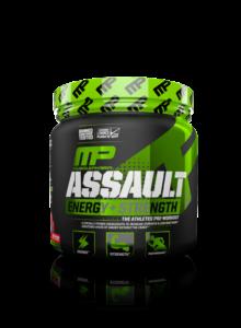 MusclePharm Assault 32 x Serving Pre-WO MP