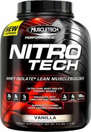 Muscletech Nitrotech Performance Series (4Lbs) BPOM !