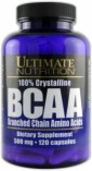 BCAA 500mg 120caps – Ultimate Nutrition