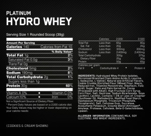 Platinum-Hydrowhey-fact