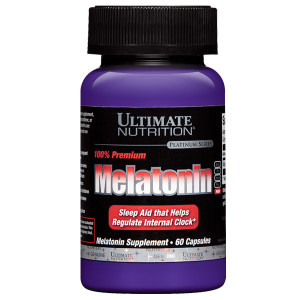 Melatonin Ultimate Nutrition 60 capsule