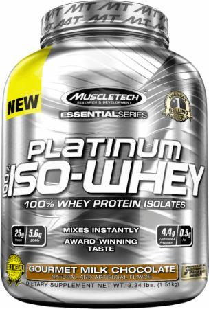 Platinum 100 ISO whey - Muscletech