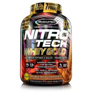 Nitrotech Whey Gold 6 lbs Whey protein Muscletech