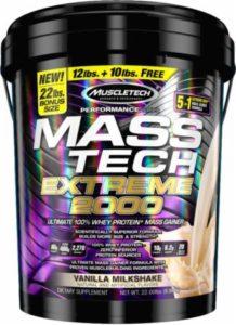 Mass Tech Gainer 22 lbs Muscletech