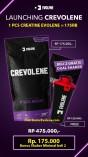 Creatine Evolene Crevolene 330 Gram Bpom + Halal